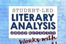 Literary Analysis in High School ELA / Lessons, resources and ideas to teach literary analysis at the high school level. Be sure to not only pin products but great ideas for the classroom as well. You can pin as often as you like, but delete any repeat pins, please!  Re-pins welcome!  Want to join the board? Email me at carlamcleod@gmail.com.