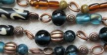BeadsInColor / Large and colorful beads, long necklaces...