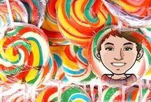 CANDY art / Sweet Cute Candy Art / by eDonnabelle