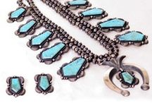Native Indian Turquoise Jewelry / Single Strands to Multi Strands, Squashes and Pendants.  We have genuine Native Indian Necklaces from the tribes of the Southwest.