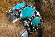 Southwest Turquoise Jewelry / Fantastic jewelry with a southwest flair made by artisans across the nation.