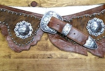 Women's fashions/Southwest Leather Belts / Top of the line Leather and Cowhide belts that are accented with Berry Conchos, Silver Buckle,tip and keepers and more!!