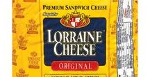 Our Cheeses / Lorraine® is a premium sandwich cheese with a delightfully creamy flavor and a lacy, light texture that stacks beautifully  on deli platters, heroes, hoagies and crackers. At only 75 mg  per serving, Lorraine® cheese is naturally low in sodium but still deliciously full-flavored. Lorraine® cheese:  the crown jewel of your sandwich.