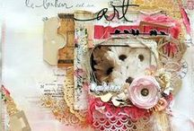 Pages Claralesfleurs / Mes créations pages scrapbooking