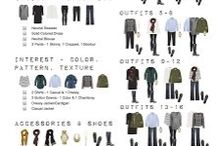 Travel capsule Wardrobe / Travel outfits, one suitcase outfits