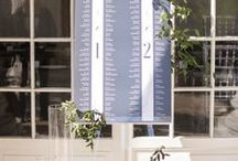 SEATING CHART / Seating chart ideas for weddings.