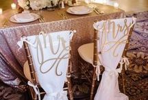 Metallic wedding ideas / Following the trend for metallic wedding colours including rose gold, this board pulls together loads of inspiration for you.