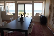 Dining Room / The large dining room sits 8 or more comfortably and of course offers more inspired views of the Atlantic Ocean.