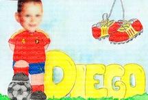 Cuadros bebe fotografías / Cuadros bebe fotografías, porque ¿qué hay más divertido que un cuadro con la fotografía de tu hijo o tu bebé mezclándose con el dibujo?, pintados a mano con pintura y acuarela, y la fotografía de la cara pegada en el dibujo, para la habitación o cuarto de los más pequeños de la casa para decorar el entorno de los niños con dibujos infantiles enmarcados.  Todas las fotografías de este tablero aparecerán distorsionadas al tratarse de menores de edad.