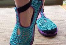 Crochet boots!