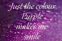 Purple  / For people who love purple! :)