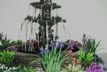 mini garden / ideas for the dolls house garden