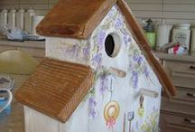 Bird Houses / this board is about cages of birds