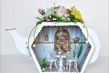 miniature rooms / varied miniature rooms and inspiration