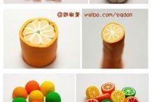 mini tuts food / tutorials for making miniature food