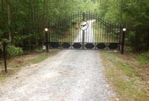 Driveway Gates - Virginia / Electronic automated estate style gates for driveways