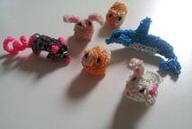 Loomarmbandjes/ Band it / Leuke dingen om te maken met loom elastiekjes!