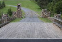Residential & Farm Gates / Custom made gates installed on residential homes or entrances to farms.