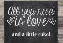 Wedding Dessert Ideas / Love is sweet!  Here are some ideas for wedding desserts.