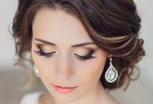 Wedding Style / Hair, make-up, accessories, shoes, and nails