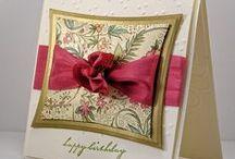 cards 3 (pretty) / cards with fancy feminine theme