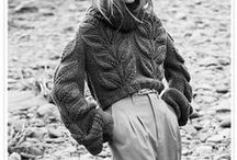 Warm and Wooly / Knitted-hooked-wool Fashion