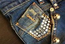 @lovehighjeans / Made In Italy Bling Woman Jeans