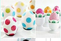 Easter / Easter eggs and baskets, Easter crafts and decor, and recipes inspired by Easter.