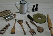 kitchenware / utensils / miniature kitchen ware