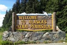 """Kenai Peninsula - """"Alaska's Playground"""" / Visit the Kenai Peninsula, """"Alaska's Playground"""" while traveling Alaska. Wildlife, Glaciers, Mountains and Fishing await you! It's where Alaskans recreate and enjoy their free time. A beautiful place to visit and live!"""