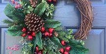 flower wreaths / ideas for wreaths