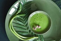 Green Emotions / The colors of nature are the palette from which we take the inspiration to convey emotions in our dishes