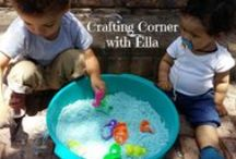 Crafting Corner / Simple affordable fun crafts to do with your tots from our crafting columnist Ella