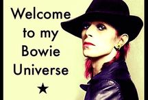 My Bowie Universe / David Bowie is a pure genuis, a real chameleon and a multitalented artist who excels in everything he does: singer, musician, composer, song writer, mime, actor, painter, fashion icon..MY BOWIE UNIVERSE is a community page (give it your like!), and a group. Follow MBU on Instagram too! ★  https://www.facebook.com/melanie.Bowie.Universe https://www.facebook.com/groups/My.Bowie.Universe