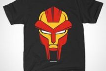 DOOMSTARKS / Tee-Shirt and Gear inspired by MF Doom and Ghostface Killa aka DOOMSTARKS.