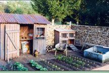 garden sheds etc
