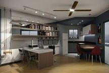 - 036 Flat Itaim Bibi / Imagens do processo de desenvolvimento de projeto de reforma  do escritório Bel e Tef Atelier da Reforma.