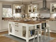 Tongue and Groove Kitchens / Tongue and Groove is a classic feature of a traditional Shaker style kitchen.  Take look at Howdens for kitchen ideas and inspiration.