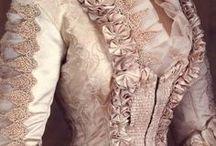 Antique costume-1900 women