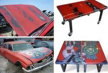 Creative Uses for Car Parts / Creative & DIY Uses for Car Parts / Repurposed Car Parts