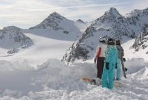 Snowboarding..