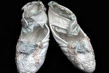Antique shoes-children