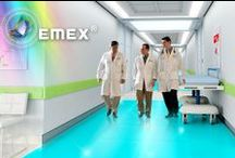 Sanitary approved epoxy floorings / Professional floorings sanitary approved, for hospitals, laboratories, restaurants