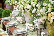 Piękne przybrania stołów
