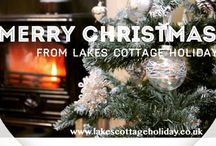 Christmas with Lakes Cottage Holidays www.lakescottageholiday.co.uk / Over 350 self catering holiday cottages throughout the Lake District suitable for a Christmas Break!!