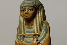 Ancient Egypt - Uschebti - Ushebti - Shawabty / Ancient Egypt / Altes Ägypten Art / Kunst Uschebti / Ushebti / Shawabty