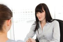 INTERVIEW TIPS / Tips for work interviews including management jobs. Advice on job interview questions and how to deal with difficult interview situations. #interviews