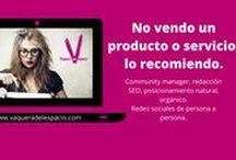 Social Networker / #Bloguera #Communitymanager #Influencer Soy #Vaqueradelespacio   http://www.vaqueradelespacio.com