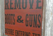 OLD WEST SIGN