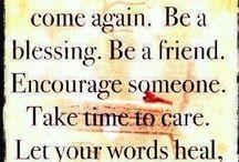 Words to inspire / by Glenda Holdsworth Maltman